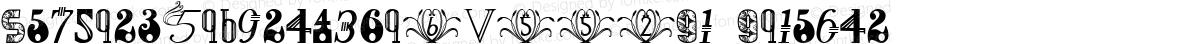 NumbersDecorative1W00-Rg Regular