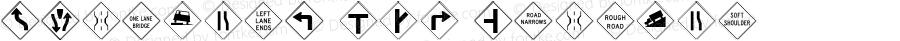 HighwayB USA Regular Version 4.10