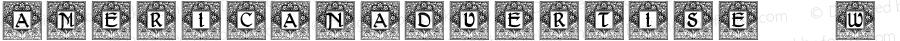 AmericanAdvertise012W90-Rg Regular Version 1.00