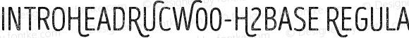 IntroHeadRUCW00-H2Base Regular Version 1.00