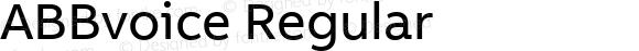 ABBvoice Regular