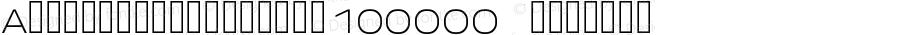 AndroidClock-Large100000 Regular Version 1.00000; 2011