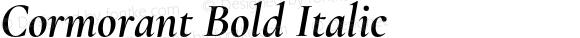 Cormorant Bold Italic