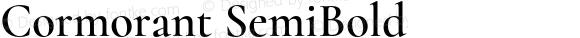 Cormorant SemiBold