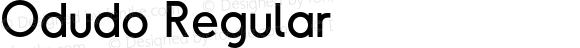Odudo Regular Version 1.000;PS 001.000;hotconv 1.0.70;makeotf.lib2.5.58329
