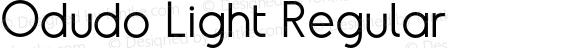 Odudo Light Regular Version 1.000;PS 001.000;hotconv 1.0.70;makeotf.lib2.5.58329