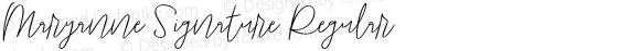 Maryanne Signature