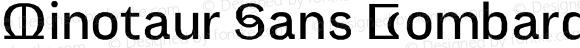 Minotaur Sans Lombardic Web