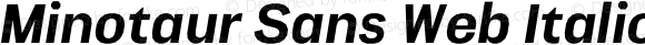 Minotaur Sans Web