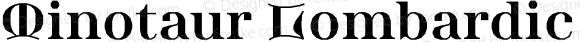 Minotaur Lombardic Web