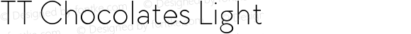 TT Chocolates Light
