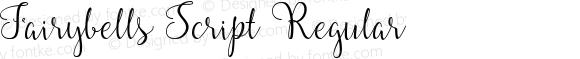 Fairybells Script Regular