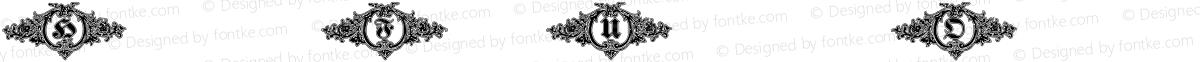 HostetlerFetteUltfrakturOrnamentalShadowW90 Regular