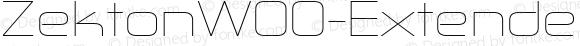 ZektonW00-ExtendedUltLight Regular Version 5.00