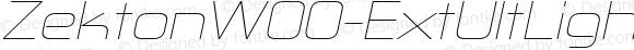 ZektonW00-ExtUltLightIt Regular Version 5.00