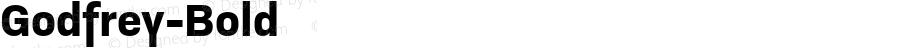 Godfrey-Bold ☞ Version 1.001;com.myfonts.easy.ludwiguebele.godfrey.bold.wfkit2.version.4uSv
