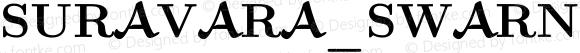 SURAVARA_SWARNA Bold Version 0.1