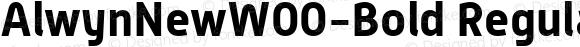 AlwynNewW00-Bold Regular Version 5.00