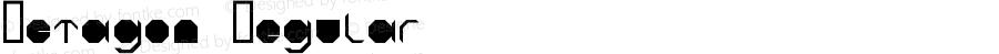 Octagon Regular Fontographer 4.7 6/11/10 FG4M0000002045