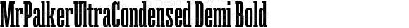 MrPalkerUltraCondensed Demi Bold Version 1.000;com.myfonts.easy.letterheadrussia.mr-palker.ultracondensed-demi-bold.wfkit2.version.4vYp