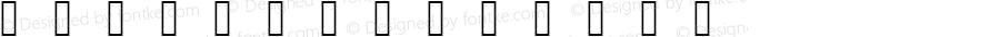 icongs Regular Version 001.000