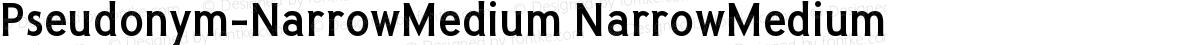 Pseudonym-NarrowMedium NarrowMedium