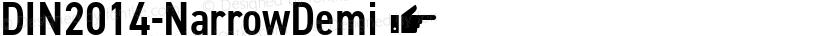DIN2014-NarrowDemi ☞ Preview Image