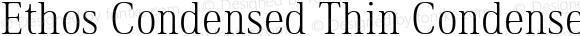 Ethos Condensed Thin Condensed Thin