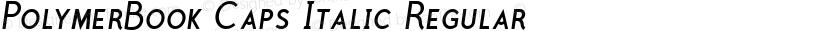 PolymerBook Caps Italic Regular Preview Image
