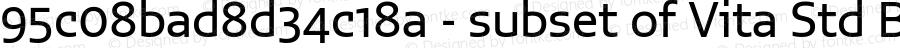 95c08bad8d34c18a - subset of Vita Std Bk Regular Version 1.0; 2015