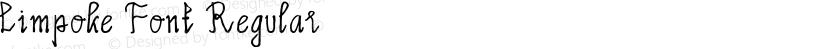 Limpoke Font Regular Preview Image