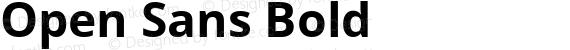 Open Sans Bold preview image