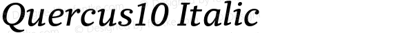 Quercus10 Italic