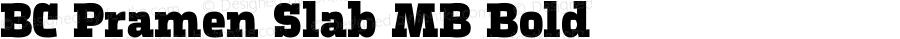 BC Pramen Slab MB Bold