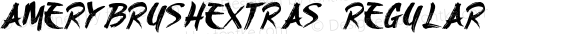 AmeryBrushExtras Regular Version 1.00 March 15, 2016, initial release