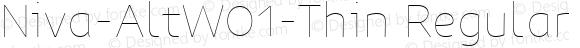 Niva-AltW01-Thin Regular Version 3.37