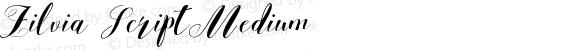 Zilvia Script Medium