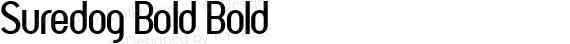 Suredog Bold Bold preview image