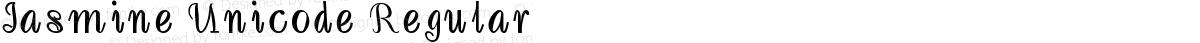 Jasmine Unicode Regular
