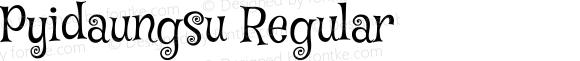 Pyidaungsu Regular