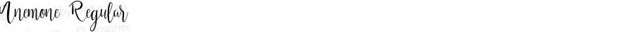 Anemone Regular 1.000