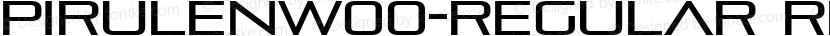PirulenW00-Regular Regular Preview Image