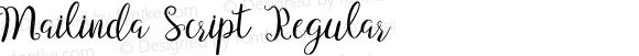 Mailinda Script Regular