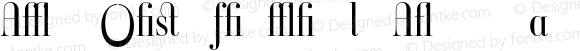 Ambroise Firmin Lt Alternates Regular 001.000
