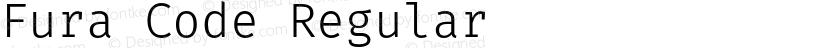 Fura Code Regular Preview Image