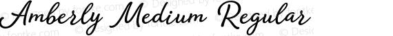 Amberly Medium Regular preview image