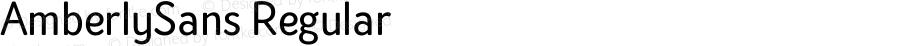 AmberlySans Regular Version 1.000;PS 001.000;hotconv 1.0.88;makeotf.lib2.5.64775