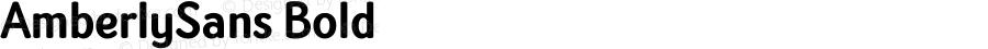 AmberlySans Bold Version 1.000;PS 001.000;hotconv 1.0.88;makeotf.lib2.5.64775
