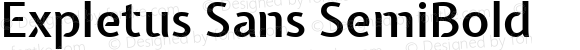 Expletus Sans SemiBold
