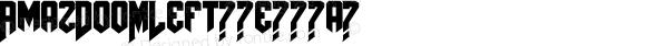AmazDooMLeft Regular Version 1.00 October 2, 2009, initial release